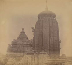 General view of the Rajalinga Temple, Bhubaneshwar